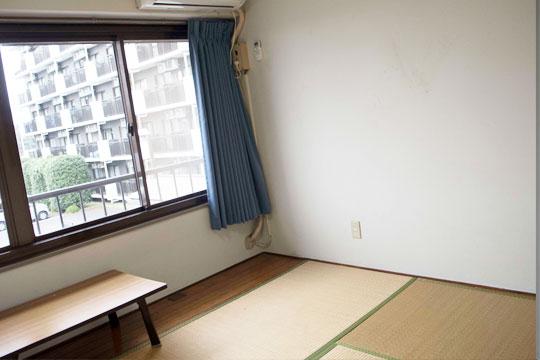 クロシェット岩舟寮の和室タイプの部屋